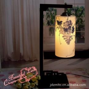 景德镇薄胎陶瓷灯 台灯 丰硕