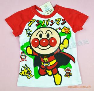外贸童装 童装 t恤 半袖 卡通t恤 t恤衫 儿童服装