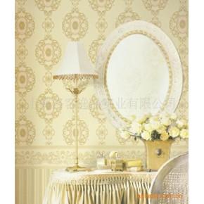 洛可可壁纸 墙纸批发 壁纸 装饰壁纸 美式风格