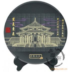 北京地方文化:故宫华表长城名胜古迹景点推广炭雕礼品