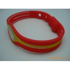 现货供应硅胶能量手环/平衡能量手环/负离子能量硅胶手环