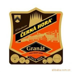 进口啤酒捷克黑山黑啤500ml瓶装