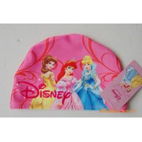 东莞蓝可迪士尼闪电麦昆、托马斯、三个公主、白雪公主儿童泳帽子
