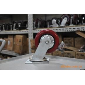 3G系列-一体轴承圆弧塑芯PU轮