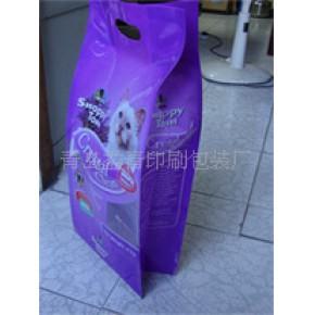 专业生产各种边折猫砂袋,边折塑料包装袋