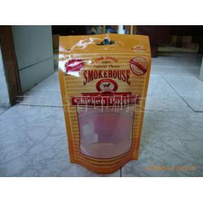 专业生产各种宠物零食自立袋,宠物零食塑料包装袋