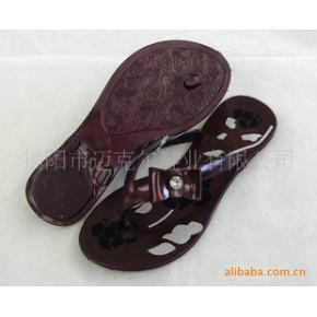 2011 夏季新款拖鞋 水晶拖鞋 人字拖鞋