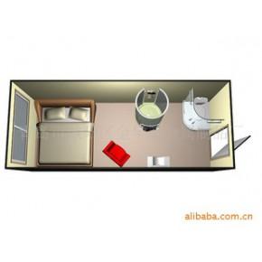 金属房屋 Containerhome 临时宿舍 户外临时房屋 集装箱公寓