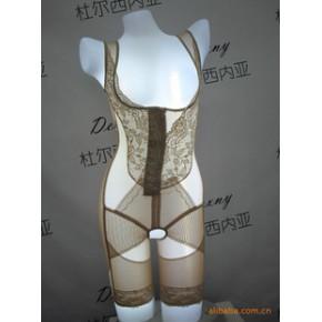 全新理念纤腰提臀合胯双层收腹连体塑身衣/美体衣
