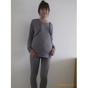 锦相依 孕妇装 孕妇裤 春装 运动套装