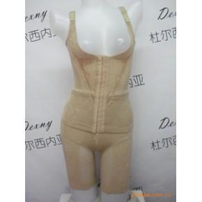 魔鬼瘦金丝印花柔软舒适分体塑身套装/美体内衣产后必备