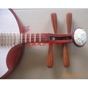 月琴 红木骨花月琴 箱装