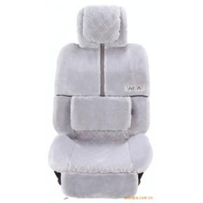 新款欧式羊毛汽车座垫座套