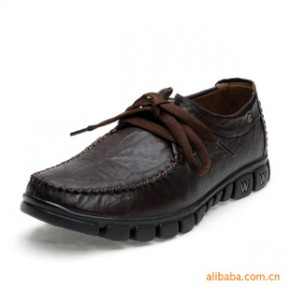 头层牛皮休闲皮鞋 男士商务皮鞋 正装 春夏新款