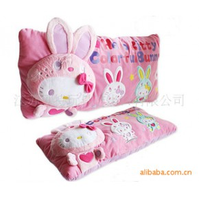 填充毛绒玩具 Hello KITTY 变身兔兔抱枕