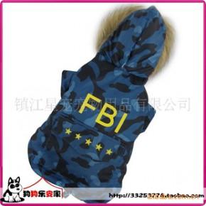 宠物衣服,宠物服装,狗衣服宠物服装,小狗服饰,FBI棉衣