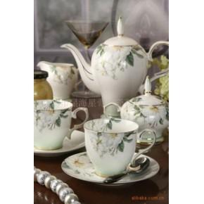 星海星骨质瓷咖啡具,尽显优质生活品味~