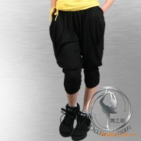 【舞之郎】舞蹈服装 芭蕾舞蹈裤 形体裤女款人棉7分裤