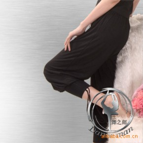 【舞之郎】舞蹈服装 芭蕾舞蹈裤 形体裤 女款人棉9分裤