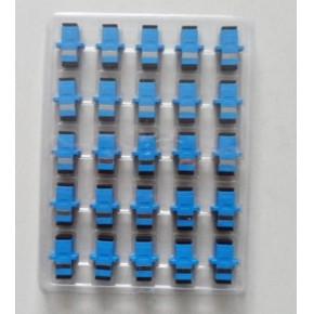SC光纤耦合器 ST光纤法兰 LC双工耦合器 束状尾纤 多模双芯跳线