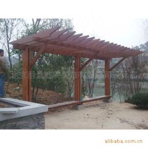 专业户外防腐木,碳化木 长廊。免费测量。安装