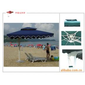 【当季】方型边柱手推遮阳伞,6把上以上免运费