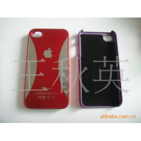 :苹果IPHONE 4G单底喷油加表面IMD外壳
