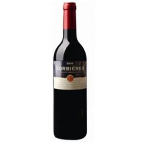 法国科比埃精选AOC干红葡萄酒