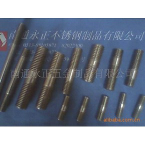 各种双头螺柱,材质不锈钢201CU,304,316,316L