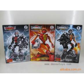 得高模玩 2011新品 盒装星际战士-英雄6款 智力玩具