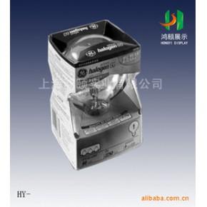 带PVC透明包装展示盒,展示效果好优质量纸货架