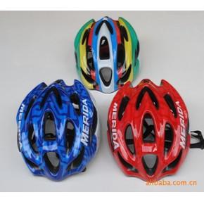美利达头盔 一体成型头盔 自行车头盔