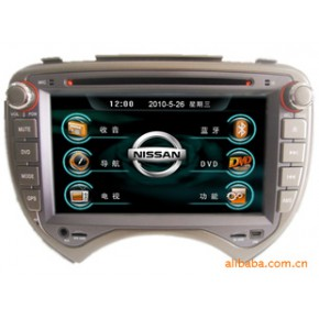 北箭日产玛驰汽车影音导航GPS/双锭7寸车载DVD