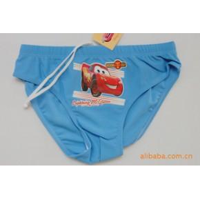 迪士尼闪电麦昆汽车男童三角泳裤8502