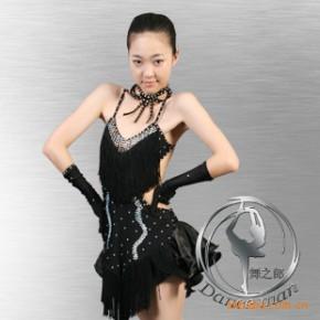 【舞之郎】交谊舞裙 拉丁舞服 拉丁服装 摩登服 拉丁表演服