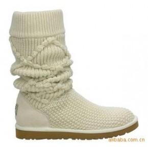 5879毛线靴.雪地鞋 热卖