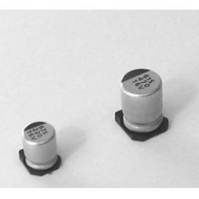 SMD铝电解华威100UF35V  6.3X7.7 2000小时 105°