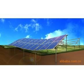 光伏组件配套,太阳能板固定支架 - 顺势地面支架系统(螺旋桩基础)