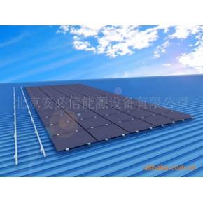 光伏组件配套,太阳能板固定支架,直立锁边彩钢瓦屋顶光伏支架系统