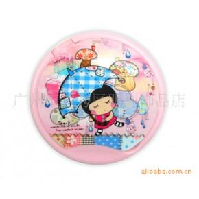 明利包包宝镜子系列 BU套卡通造型可爱镜梳套装 便携镜梳组合