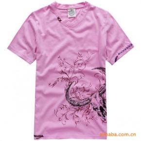 Project E Vintage 2011夏装新款 男装时尚V领短袖T恤 3426