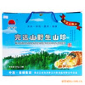 乌苏里江野生山珍四宝礼盒东北特产山珍礼盒0.5KG