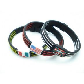 订制平衡能量硅胶手环/硅胶滴胶能量手环/颜色多,规格齐