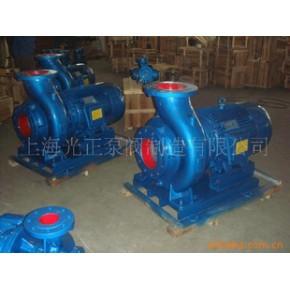 光正ISW系列卧式管道离心泵,清水泵