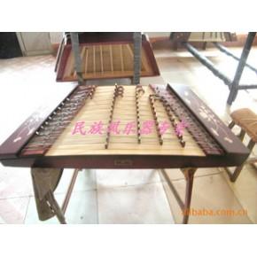 北京星海扬琴/河北乐海扬琴/民族乐器/专业花梨贝雕荷花402扬琴