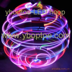 娱乐呼啦圈,健身呼啦圈,彩虹呼啦圈,7彩闪灯LED呼啦圈