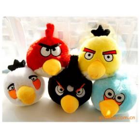愤怒的小鸟Angry birds毛绒公仔玩具 30厘米