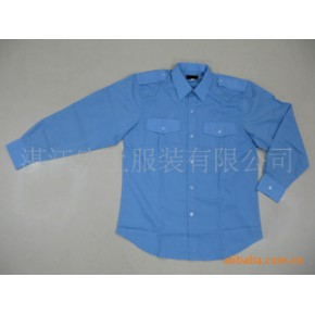保安服/长袖衬衫来样加工、生产