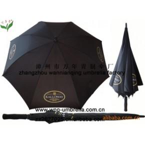 【】万年青30英寸黑色高尔夫晴雨伞  十多年专业生产