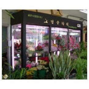 四川鲜花保鲜柜,重庆鲜花展示柜,立式保鲜柜